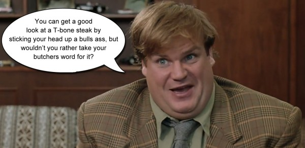 Tommy Boy butcher quote